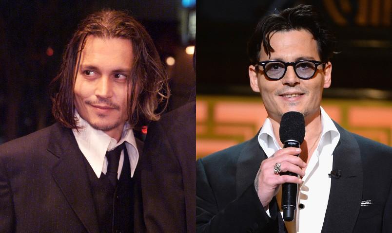 O ator tinha 38 anos durante première em 2001. E hoje, Depp possuía 51 e ainda quebra corações. (Foto: Getty Images)