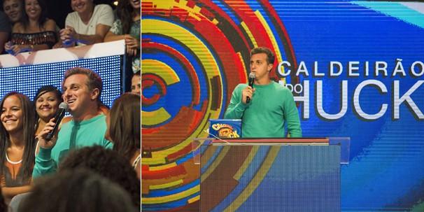 O Caldeirão do Huck ganhou nova linguagem visual e um megatelão (Foto: Globo)