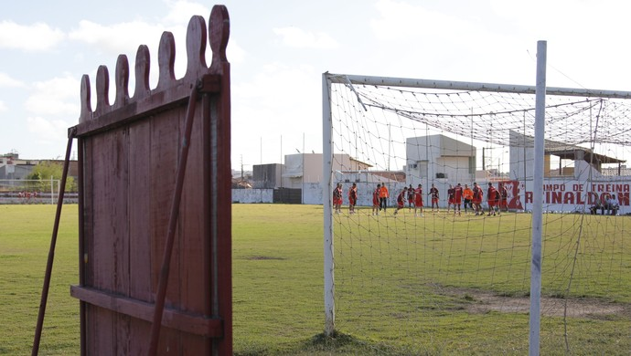 Sergipe, treino (Foto: Osmar Rios / GloboEsporte.com)
