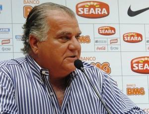 Odílio Rodrigues, vice-presidente do Santos (Foto: Lincoln Chaves / Globoesporte.com)