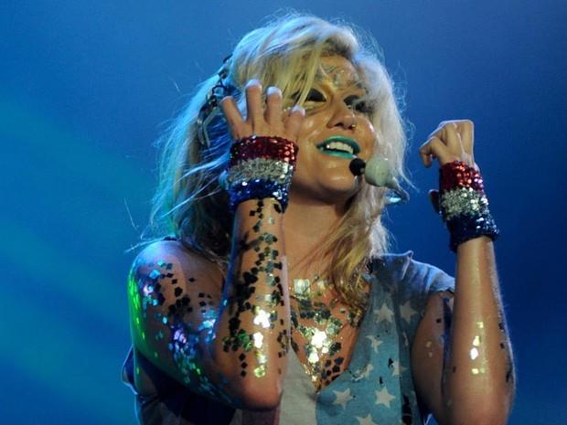 Kesha Rock In Rio 2011 (Foto: Flavio Moraes/G1)