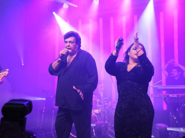 Sidney Magal e Preta Gil (Foto: Ana Colla)