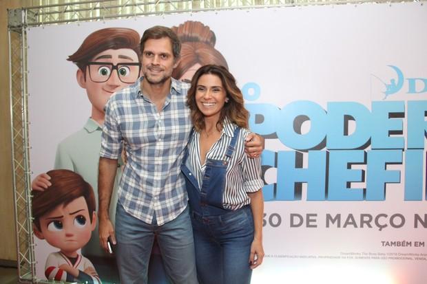 Giovanna Antonelli e o marido, Leonardo Nogueira (Foto: Wallace Barbosa / Ag News)