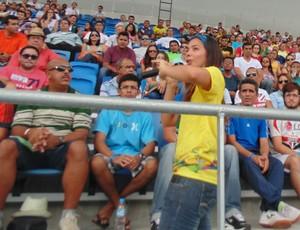 Voluntários Fifa Arena das Dunas Natal (Foto: Klênyo Galvão)