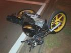 Carro e moto se envolvem em acidente no Parque São Quirino