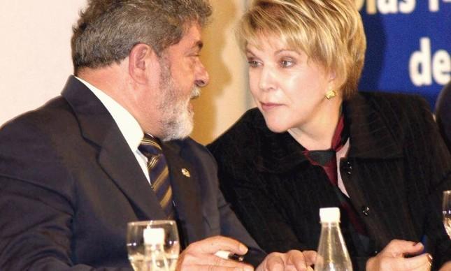 Lula e Marta Suplicy (Foto: Divulgação)