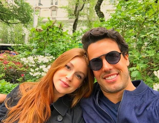 Marina Ruy Barbosa e Xande Negrão (Foto: Reprodução/ Instagram)