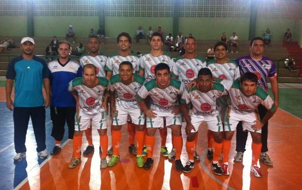 Aert venceu Vilavelhense no Capixaba de futsal (Foto: Rodrigo Silva/Aert)