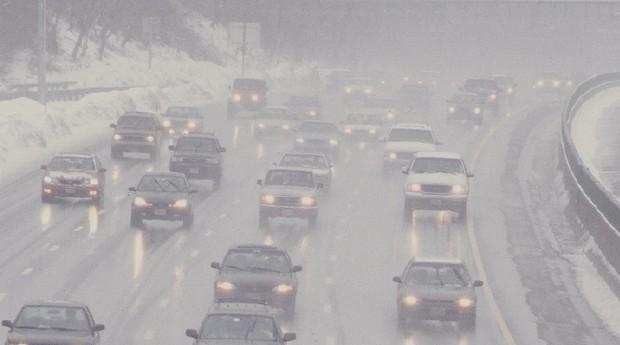 Nevasca nos Estados Unidos (Foto: NOAA/Divulgação)