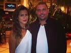 Paula  Morais e Ronaldo celebram ano novo em Las Vegas