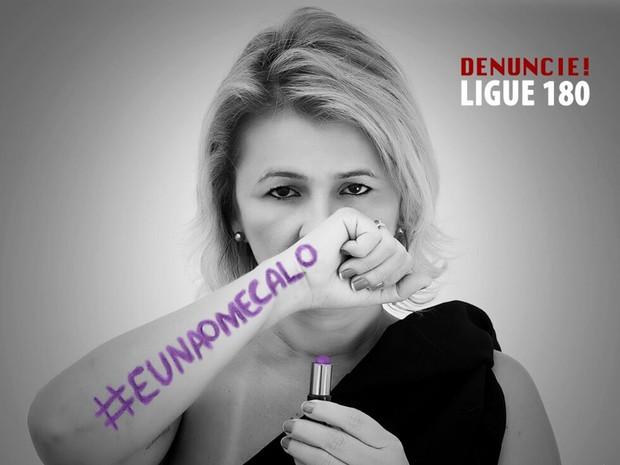 Exposição 'Eu não me calo' é assinada pela fotógrafa Kalina Veloso (Foto: Eliana Félix)