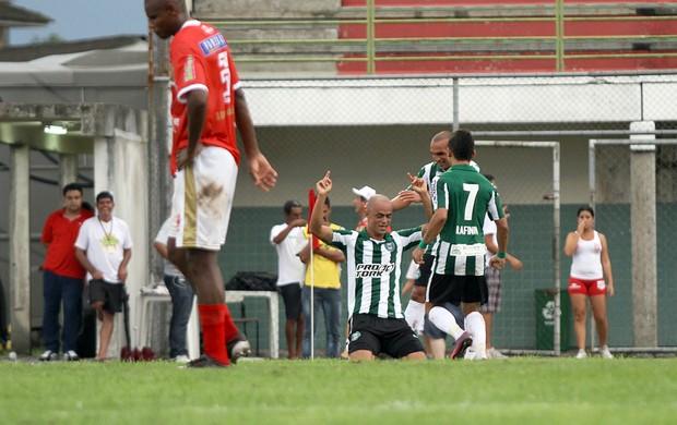 Julio César foi o grande nome da goleada do Coritiba sobre o Rio Branco-PR por 7 a 0 (Foto: Divulgação / Site oficial do Coritiba)