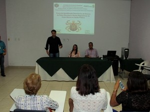 Curso para identificação de vetores da febre maculosa teve início na manhã desta segunda, 5, em Porto Velho (Foto: Admilson Knightz/Secom/RO)