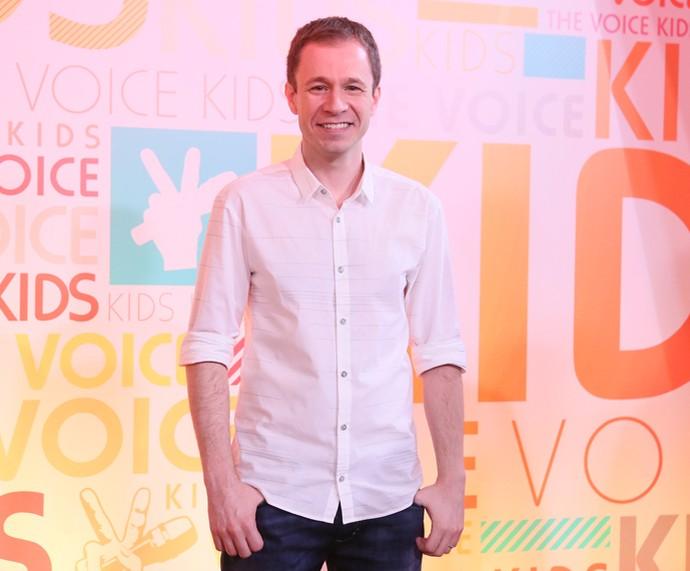 Tiago Leifert é apresentador do The Voice Kids  (Foto: Isabella Pinheiro / Gshow)