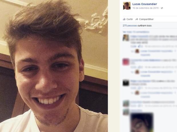 Caxias do Sul, jovem morto, rs (Foto: Reprodução/Facebook)
