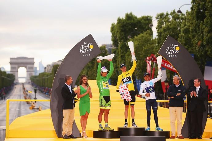 Peter Sagan conquistou a camisa verde (campeão por pontos) da Volta da França nos últimos quatro anos (Foto: Getty Images)