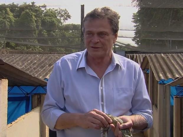 Dinis Lourenço da Silva, Goiânia, Goiás (Foto: Reprodução/TV Anhanguera)