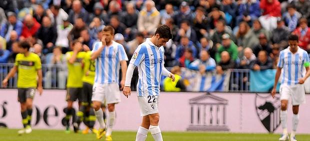 Isco derrota Málaga Espanyol (Foto: AFP)