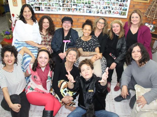 Compositoras além de subir ao palco atuam na organização do evento (Foto: Paula Guimarães/Divulgação)