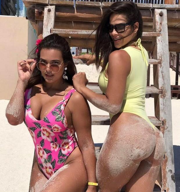 Geisy Arruda e Nuelle Alves (Foto: Reprodução/Instagram)
