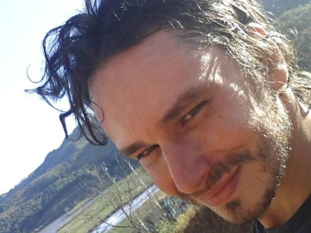 Músico mora em Minas Gerais e veio para o litoral de SP a passeio (Foto: Arquivo Pessoal)