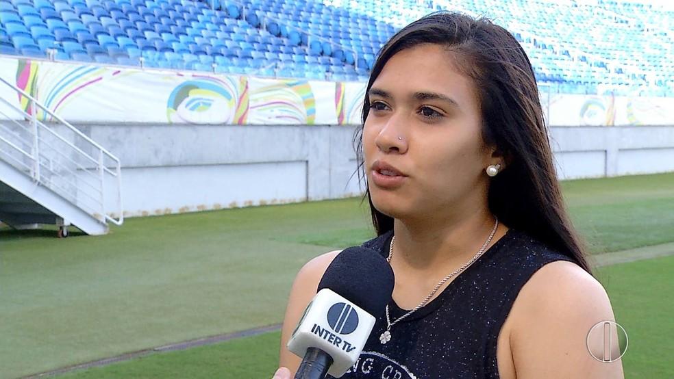 Antônia Silva é convocada para amistoso contra a Alemanha (Foto: Reprodução)
