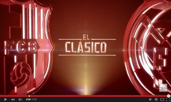 El Clasico Barcelona x Real Madrid