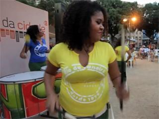 O show das Morenas de Sol (Foto: Globo)