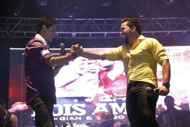 Gian e Diego Faria (Foto: Fernando Diniz/Estúdio Madrid)