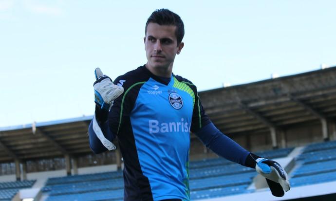 marcelo grohe gremio treino (Foto: Eduardo Deconto/GloboEsporte.com)