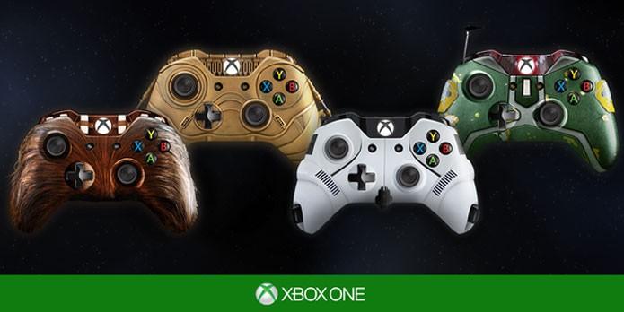 Controles de Star Wars para Xbox One foram imaginados pela Microsoft (Foto: Divulgação)