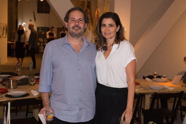 Alexandre Roesler e Renata Castro (Foto: Janssem Cardoso)