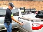 Tampas traseiras de caminhonetes são alvo de criminosos em Rio Verde