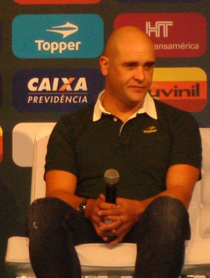 marcos palmeiras coletiva (Foto: Daniel Romeu/Globoesporte.com)