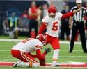 Cairo Santos iguala recorde pessoal com chute de 53 jardas na NFL