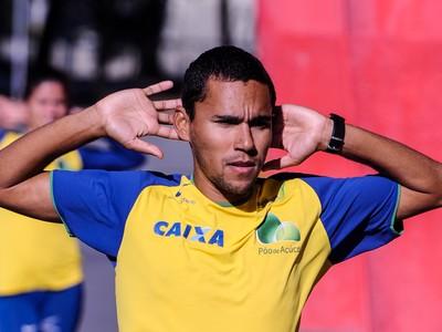 Mário José dos Santos Júnior atleta de Cubatão (Foto: Divulgação / Agência Luz)