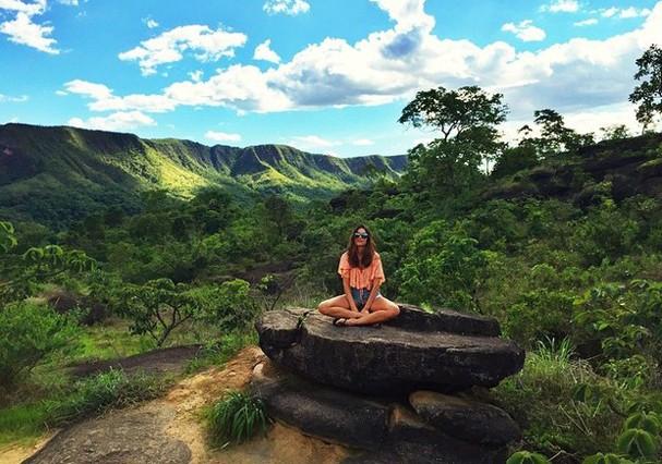 Que tal ir para Chapada dos Veadeiros, destino que já foi escolhido por Thaila Ayala? (Foto: Instagram/Reprodução)