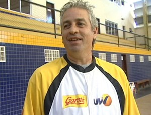 Daniel Watffy, técnico do Vila Velha/Cetaf (Foto: Reprodução/TV Gazeta)
