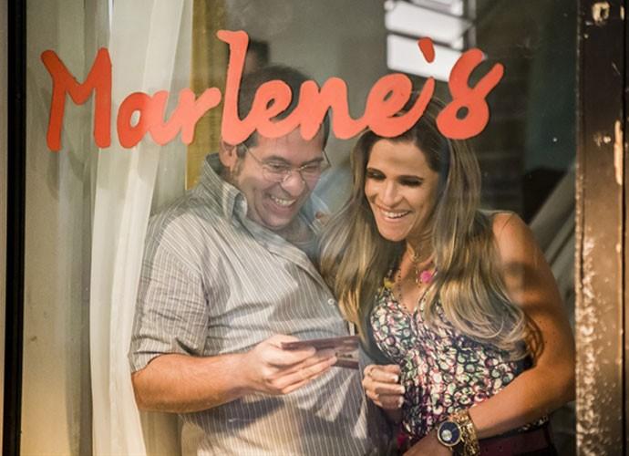 Esse casal vai fazer falta! (Foto: Globo/Tata Barreto)