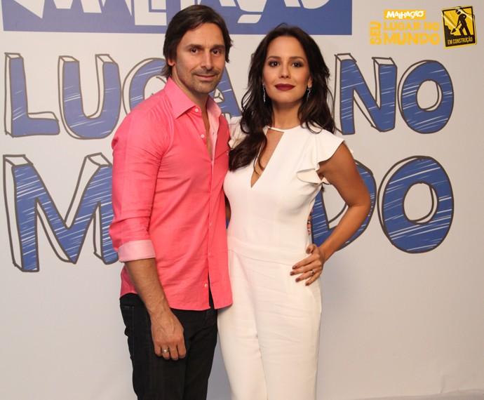 Personagem de Murilo Rosa formará um casal com Juliana Knust (Foto: Ellen Soares/Gshow)