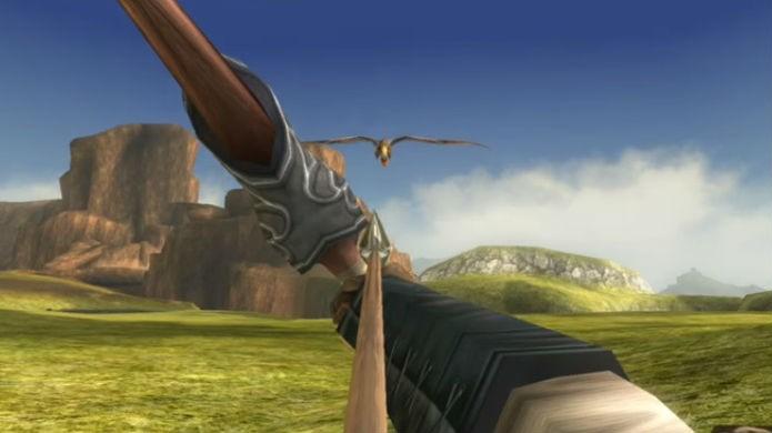 Legend of Zelda Twilight Princess HD fica ainda melhor com amiibo (Foto: Reprodução/YouTube)