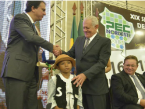 Anúncio foi feito pelo governador Camilo Santana no PEC Nordeste (Foto: Governo do Estado/Divulgação)