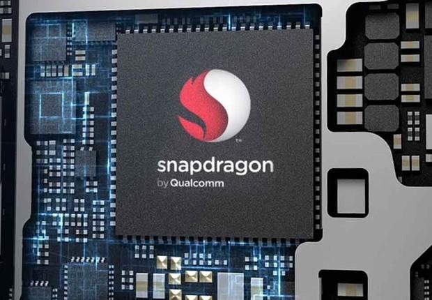 Chip Snapdragon da Qualcomm: velocidade 5G (Foto: Divulgação)