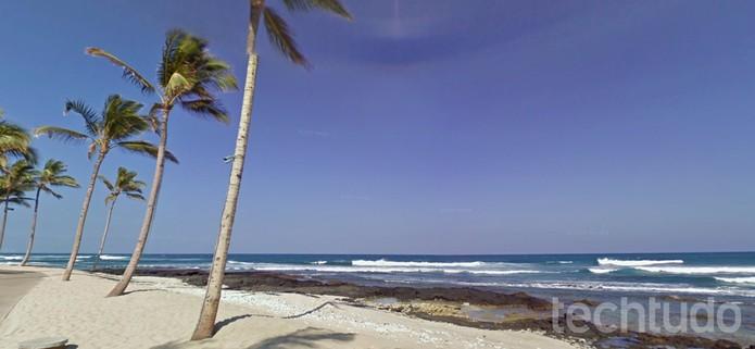 Caminhe pela praia no Hawai com o Google Street View (Foto: Reprodução/Barbara Mannara)
