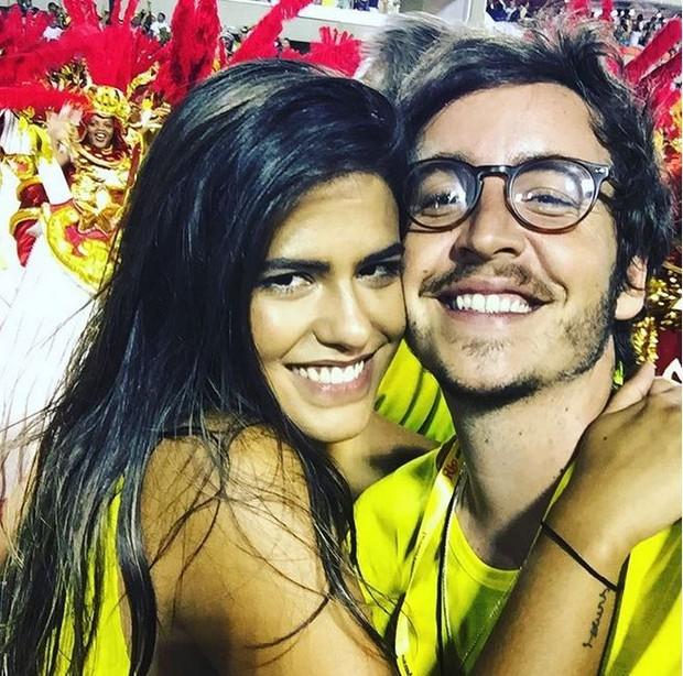 Wagner Santisteban e Antonia Moraes (Foto: Reprodução do Instagram)