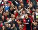 Filho de Simeone faz dois gols, Genoa vence líder Juventus, e Milan agradece