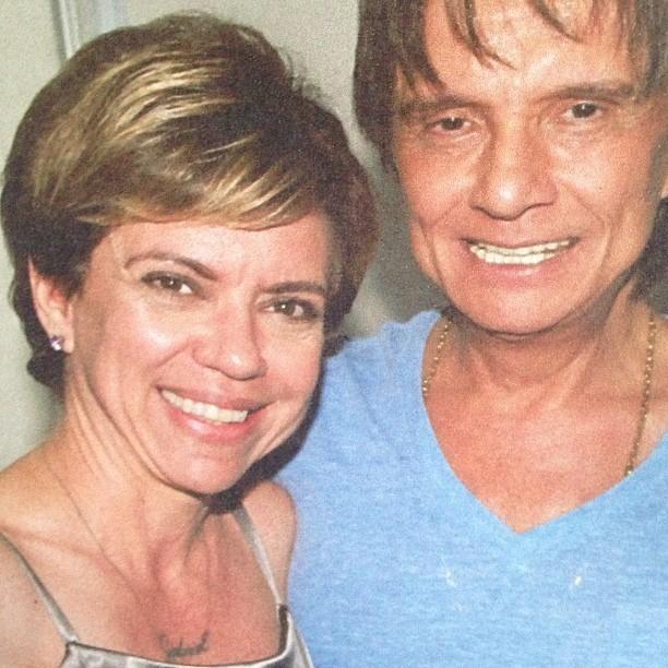 Astrid e Roberto Carlos (Foto: Instagram/Reprodução)