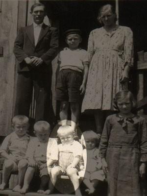 Família do cardeal chegou a Toledo, no Paraná, em 1951 (Foto: Arquivo pessoal)