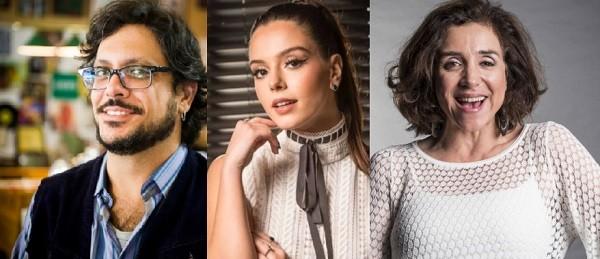 Lucio Mauro Filho, Giovanna Lancellotti e Marisa Orth: um Brasil melhor em 2018 (Foto: Reprodução)