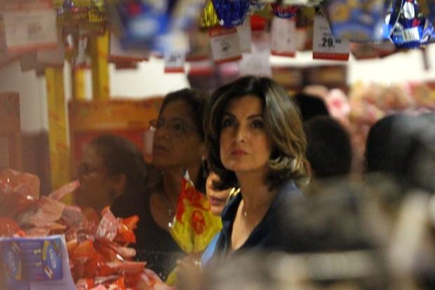 Fátima Bernardes  (Foto:  Marcos Ferreira / photo rio news)